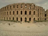 Coliseum of the photo