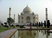 Мавзолей Тадж-Махал в Индии